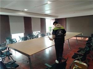 青島遠洋大廈會議室甲醛治理